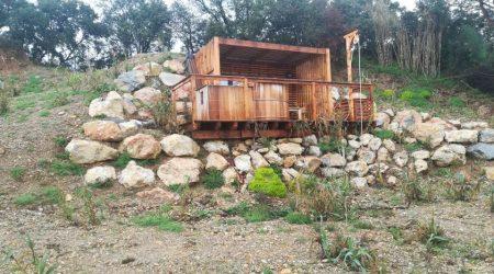 Cabane avec Spa Confort plus Cabinet Alliances
